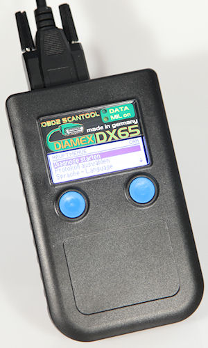 Diamex DX65 OBD2 Multi Norm Handheld Scanner