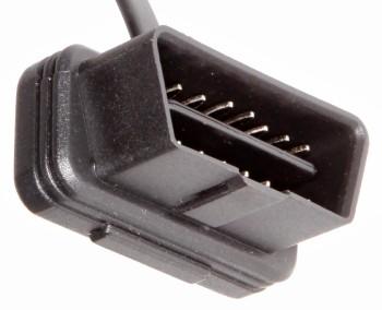 obd2 ultra flacher obd ii stecker mit kabel. Black Bedroom Furniture Sets. Home Design Ideas