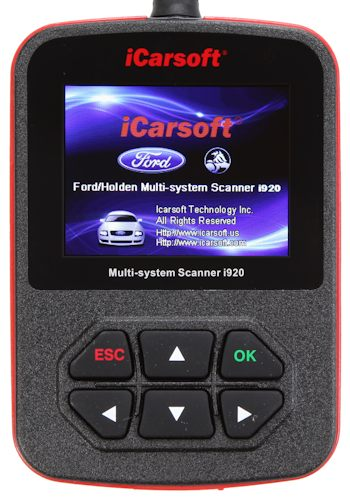 iCarsoft i920 Ford/Holden Scanner