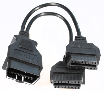OBD-2 Y-Adapter to 2x OBD-2 Jack